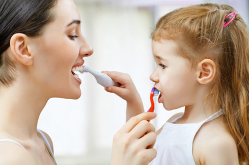 Calgary teeth brushing